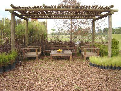 jardines p casas rusticas